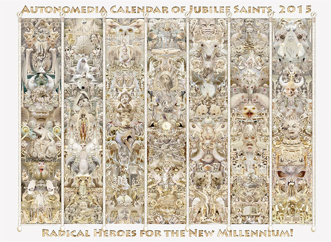 2015 Autonomedia Calendar of Jubilee Saints