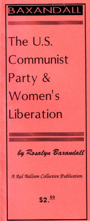 The U.S. Communist Party & Women's Liberation