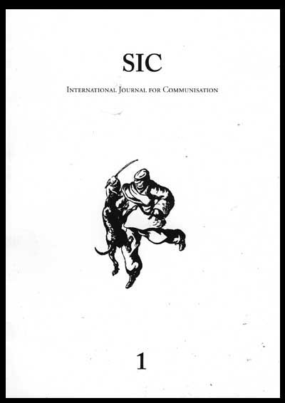 Sic: International Journal for Communisation