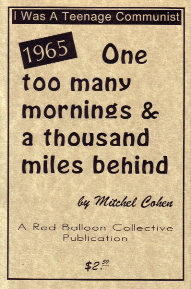 1965: One Too Many Mornings and a Thousand Miles Behind