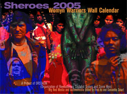 2005 Sheroes & Womyn Warriors Wall Calendar
