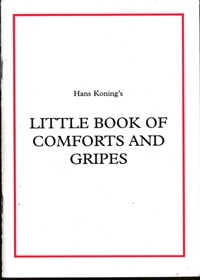 Little Book of Comforts and Gripes